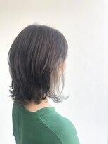 ヘアメイク オブジェ(hair make objet)ハイトーンインナーカラー