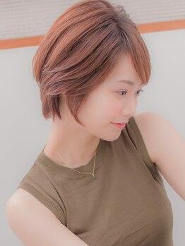 パッセージ ダブリュー 八幡山(hair make passage .w)の写真/美しさが一段と引き立つツヤ色で柔らかい女性らしさを演出するヴィラロドラカラー。全色白髪染め対応◎