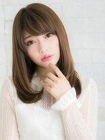 ヘアサロン ナノ(hair salon nano)清楚系!重めのストレートスタイル