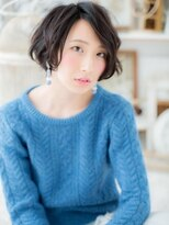 *+mod's越谷+*横顔美人…黒髪前下がりボブb