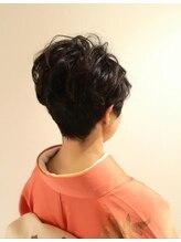 ヘアーアンドメイク ディライト(Hair&Make Delight)着物ショートアレンジ