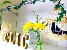クリック ヘアースタジオ 亀有店(CLIC Hairstudio)の雰囲気(お客様に喜んでいただけるように、季節感を大切にしています。)