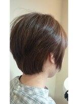 モイヘアーデザイン(moi hair design)横顔美人ショート