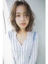 CIEN by ar hair『浜松可愛い』大人のゆるふわミディアムボブ