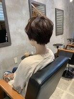 クレエ ヘアー デザイン(creer hair design)ハンサムショート
