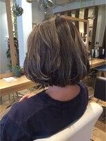ハブコヘアスパ(HaBCo hair spa)グレージュボブ