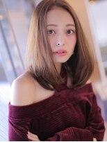 透明感のある美髪ロブ★