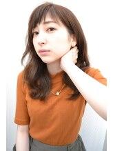 ヘアークリエイト ミリ(hair create mm)【mm渡辺】ゆるウェーブ