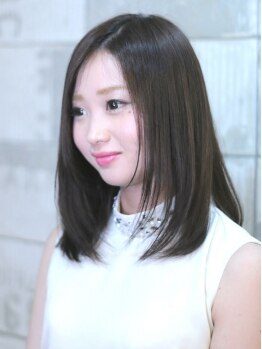 ダブリュー(Doublew)の写真/リピ絶賛のカット技術に加え、カラー時にミネラル+コラーゲン+アミノ酸+ヒアルロン酸を注入!上質美髪へ♪