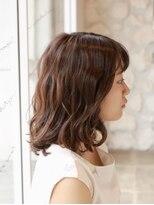 レムアサガヤ(REM-asagaya-)耳かけくびれミディアムくすみ艶カラー