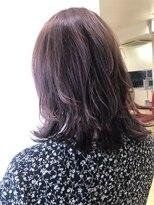 エゴヘアコレクション(EGO HAIR COLLECTION))ブリーチ無し☆ラベンダーカラー