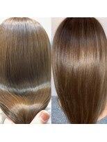 スローライフヘアーデザインアンドスパラウンジ(Slow life Hair design spa lounge)高濃度水素質感矯正ミネコラ