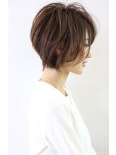 デイズヘアデザイン(DAYS hair design)☆絶壁解消☆大人女子スッキリショートボブ☆ 【clover 橋本】