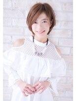 ボニークチュール(BONNY COUTURE)40代大人女性ナチュラルなボブ・神戸ショートボブ・クセ毛