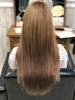 デザイン フォー ヘアー グランツ プロデュース バイ ヒス(Design for hair GRAnt'z)の写真/モデルやタレントなど美にこだわる女性からも高く支持される!高品質シールエクステ取り扱い♪