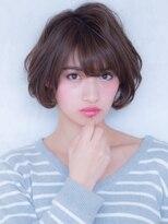 オーブ ヘアー ルル 京都四条通り店(AUBE HAIR lulu)やわらか♪大人ショート