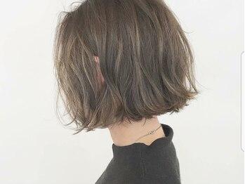 スウェル(SWELL)の写真/外国人風ハイライト・オルチャンカラーもお任せを◆毛先の動き・透け感を強調して柔らかさ・肌の透明感UP!