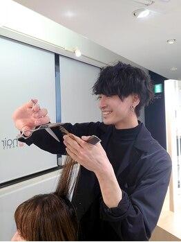 モッズ ヘア 新宿サウス店(mod's hair)の写真/仕事も遊びも楽しめる自分だけのスタイルに。毎日簡単にお洒落にスタイリングしたいなら【佐藤】にお任せ!