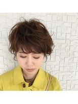 テラスヘア(TERRACE hair)ふんわりパーマショート