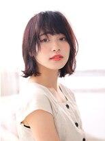 カイノ プラットプラット店(KAINO)【KAINO】◎黒髪ボブディ◎外ハネスタイル
