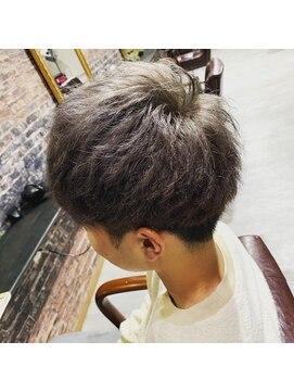 ワントーンヘアー(one tone hair)グレーアッシュ