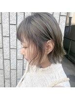 アルマヘアー(Alma hair by murasaki)マットグレージュボブ