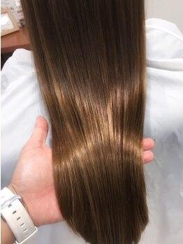 シエル 甲東園店(CIEL)の写真/【話題のTOKIOトリートメント取扱い店】≪Cut+TOKIOトリートメント¥6000≫傷んだ髪も潤いある美髪に変身☆