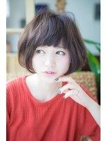 【hair lounge Caro 高崎】丸みショート 小顔 ナチュラルボブ♪