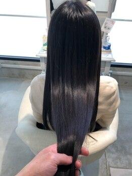 ワンズ ビューティー(ONE'S beauty)の写真/当店拘りの【頭皮改善/髪質改善/トリ-トメント】で美しい髪へ*髪質に合ったベストな方法をご提案致します!