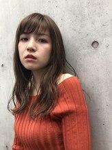 ヘアー カーム 武蔵小杉店(HAIR CALM)惚れヘア♪シースルー バングで小顔ナチュラルミディスタイル☆