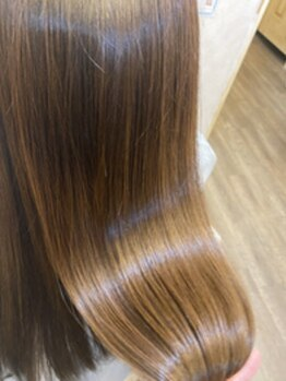 クレールヘアー(Clair Hair)の写真/《女性Stylistのみ》広島での取扱は3店舗のみ!商標登録済みの酸熱トリートメントで貴方史上最高の美髪へ☆