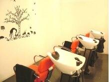 東京銀座 ラボ 宇都宮店(LA BO)の雰囲気(人の目を気にせずゆったりと過ごせるシャンプーブース♪)
