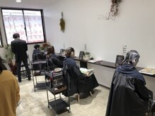 ヘアカラーカフェ 大田店(HAIR COLOR CAFE)の雰囲気(落ち着いた雰囲気なのでどなたでもゆっくりお過ごしいただけます)