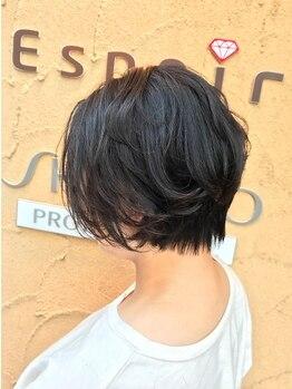 """エスポワール 北習志野店(ESPOIR)の写真/【北習志野駅1分】""""大人上質カラー""""1.2年後の健康な髪は今から作る。頭皮に優しい白髪染めをしたい方必見♪"""