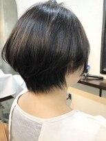 エトネ ヘアーサロン 仙台駅前(eTONe hair salon)【癖・広がり・ボリューム】ストレートショートボブ