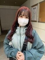 ヌープヘアーアイス(NUUP.hair ici)black × pink