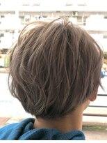 リリー ヘアーデザイン(Lilly hair design)バイオレットアッシュ×2ブロマッシュ