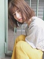 モッズヘア 仙台PARCO店(mod's hair)【モッズヘア仙台】セピアグレージュ+ゆるボブ