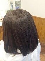 テトラ ヘアー(TETRA hair)ダークグレーアッシュ