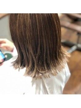ヘアーラウンジ プレ(Hair Lounge Ple)の写真/再現性の高いこだわりの技術とセンスで毎朝のお手入れが楽になります。