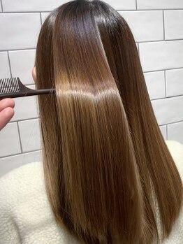 ループウエスト(LOOP WEST)の写真/オーダーメイドの髪質改善トリートメントメニューで憧れの美髪に。