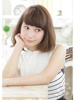 キエマ(Kiema)【Kiema★】大人美髪 可愛い スモーキーアッシュボブ