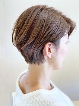 チル アウト ヘア ロジック(chill out hair Logic)の写真/再現性の高いスタイルが得意なスタイリストがマンツーマン施術♪お手入れが楽になるナチュラルヘアをご提案
