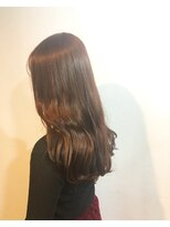 ヘアメイク オブジェ(hair make objet)ダークレッドブラウン
