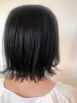 ヘアーエスクールステラ(hair S.COEUR stella)暗髪★ミディアムヘア