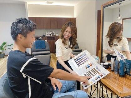 ラナヘアーサロン ホシガオカ(Lana hair salon HOSHIGAOKA)の写真