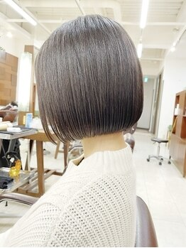"""キアラ(Kchiara)の写真/【九州支持率No.1】""""理想のうるツヤ美髪へ""""豊富なTRで地肌から毛先まで潤う◇高級シルクのような手触りに☆"""