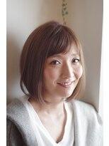スフィーダ(SFIDA / 92co.)SFIDA☆大人かわいいボブ×透明感のあるアッシュベージュ☆