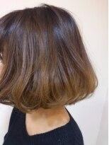 モイヘアーデザイン(moi hair design)グラデカラーふわボブ