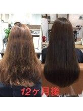 オハナヘアー(ohana hair)髪質改善の成果!一年間でこんなにきれいに!